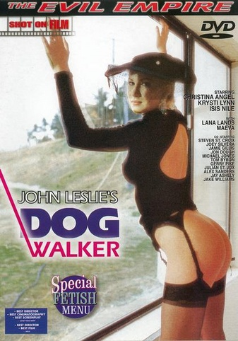 Dog Walker from Evil Angel: John Leslie front cover