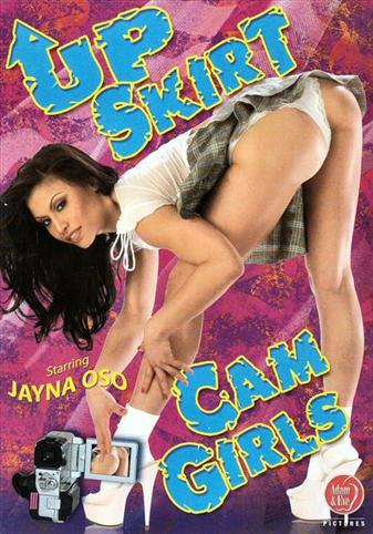 Up Skirt Cam Girls from Adam & Eve front cover