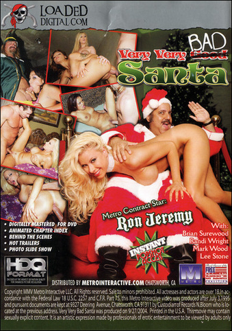Very Very Bad Santa from Metro back cover