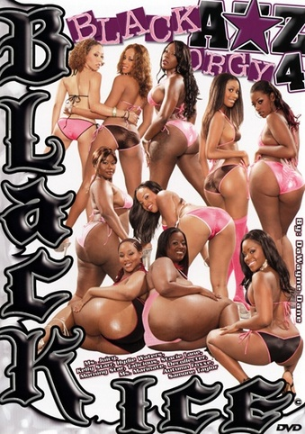 Black Azz Orgy 4 from Black Ice front cover