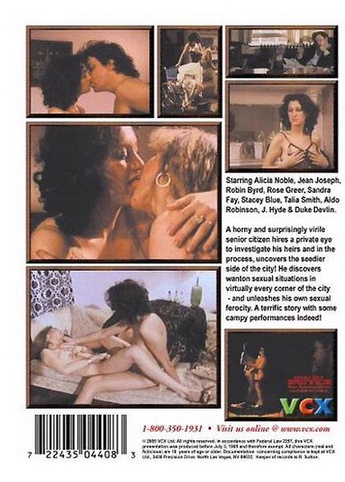 The Last Sex Act from VCX back cover