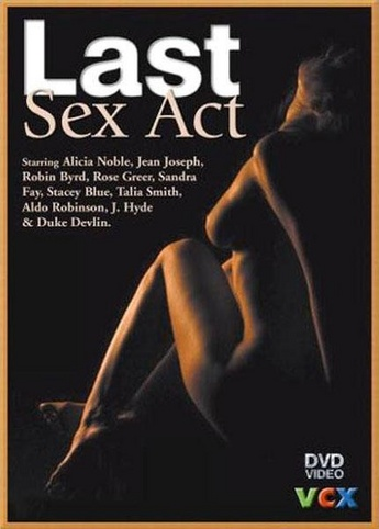 The Last Sex Act from VCX front cover