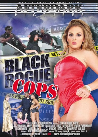 Black Rogue Cops from West Coast front cover