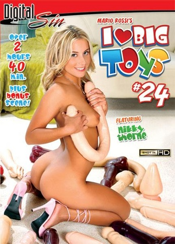 I Love Big Toys 24 from Digital Sin front cover