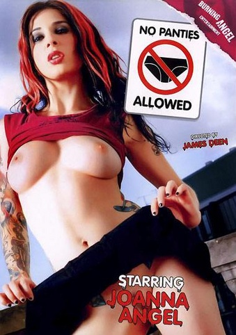 No Panties Allowed from Burning Angel front cover