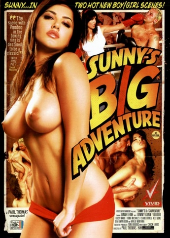 Sunny's Big Adventure from Vivid front cover