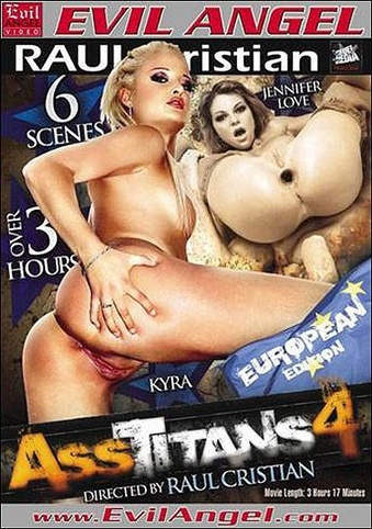 Ass Titans 4 from Evil Angel: Cruel Media front cover