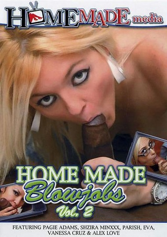 Home Made Blowjobs 2 from Homemade Media front cover