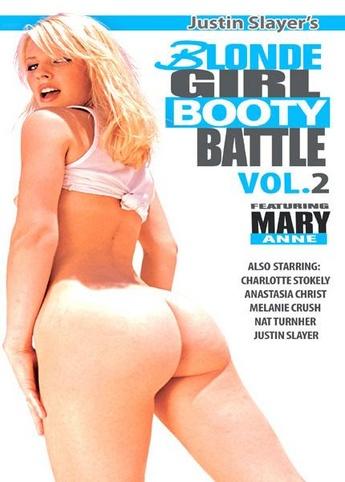 Blonde Girl Booty Battle 2