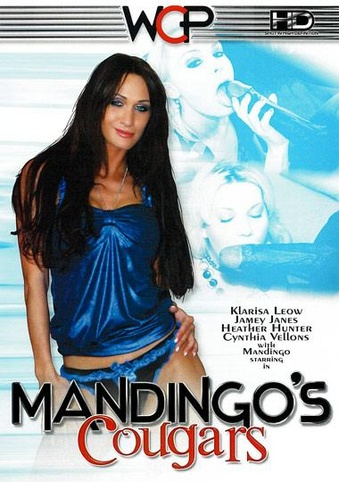 Mandingo's Cougars from West Coast front cover
