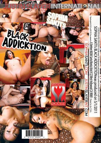 Sophia Santi Black Addicktion from Justin Slayer back cover