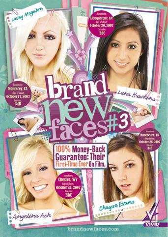 Brand New Faces 3 from Vivid front cover