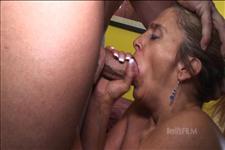 Horney deep throat slut load