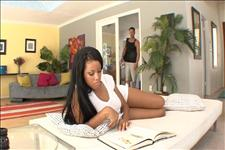 Horny Black Babysitters 3 Scene 1