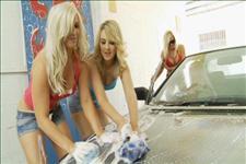 Lesbian Car Wash Scene 1
