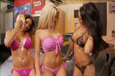 Lesbian Car Wash Scene 6