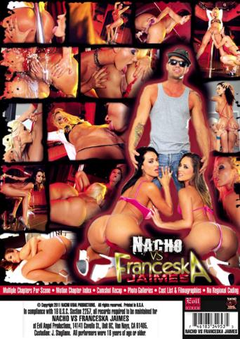 Nacho VS Franceska Jaimes from Evil Angel: Nacho Vidal back cover