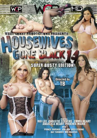 Housewives Gone Black 14 from West Coast front cover