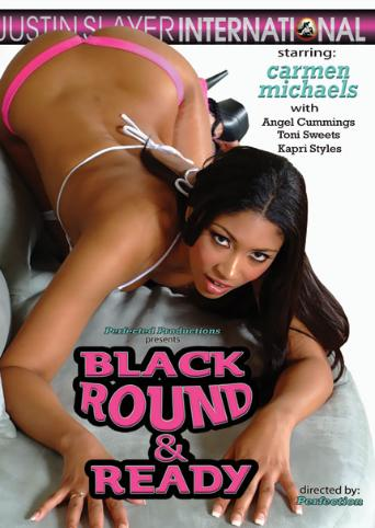 Black Round And Ready from Justin Slayer front cover