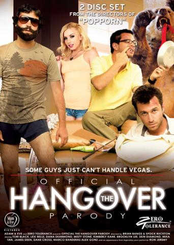 The Offical Hangover Parody from Zero Tolerance front cover