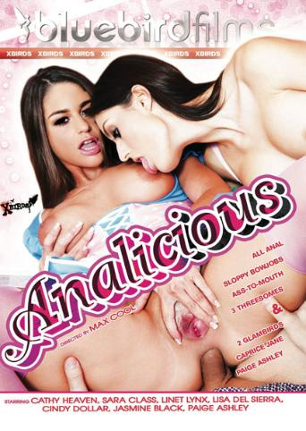 Analicious from Bluebird Films front cover