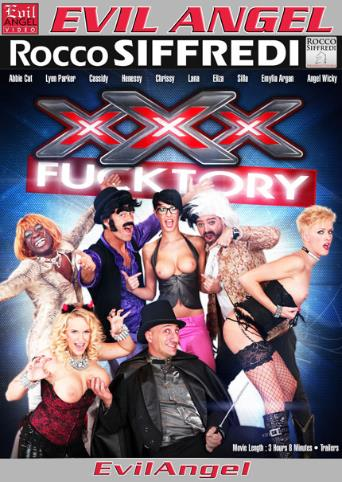 XXX Fucktory from Evil Angel: Rocco Siffredi front cover