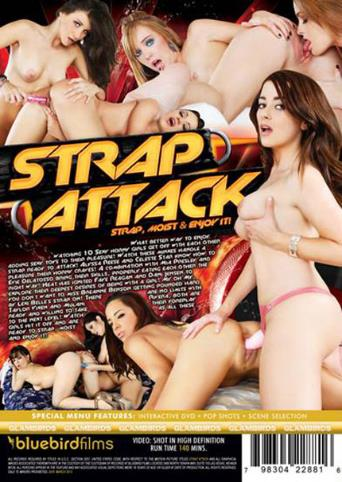 Strap Attack from Bluebird Films back cover