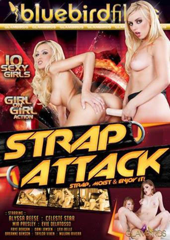 Strap Attack from Bluebird Films front cover