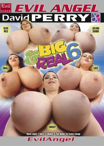 Big And Real 6 from Evil Angel front cover
