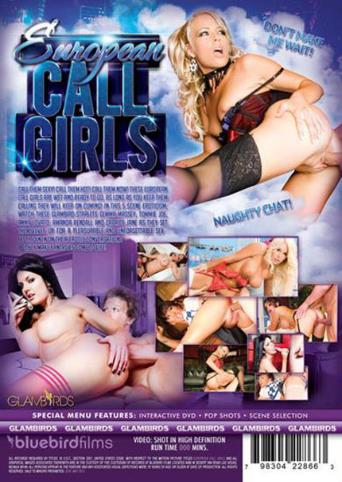 European Call Girls from Bluebird Films back cover