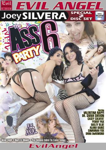 The Ass Party 6 from Evil Angel: Joey Silvera front cover