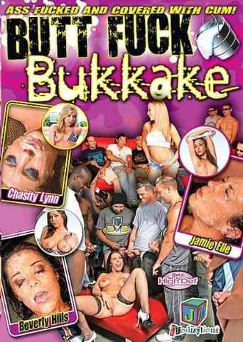 Butt Fuck Bukkake from JM Productions front cover