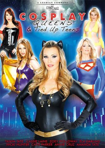 Cosplay Queens And Tied Up Teens from Filly Films front cover