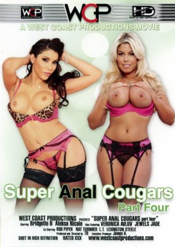 Super Anal Cougar 4 from West Coast front cover