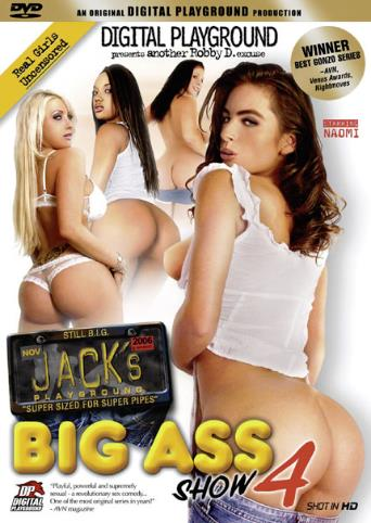 Jack's Big Ass Show 4 from Digital Playground front cover