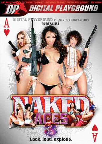Naked Aces 3 from Digital Playground front cover