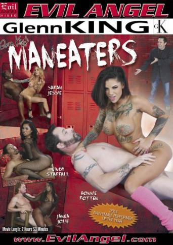 Maneaters from Evil Angel front cover