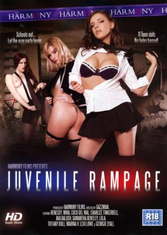Juvenile Rampage from Harmony front cover