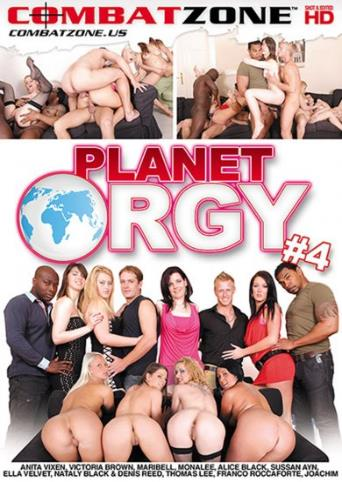 Planet Orgy 4 from Combat Zone front cover