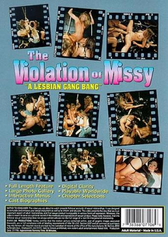 The Violation Of Missy from JM Productions back cover