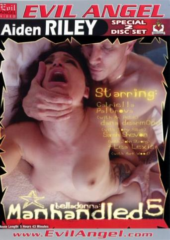 Manhandled 5 from Evil Angel: Belladonna front cover