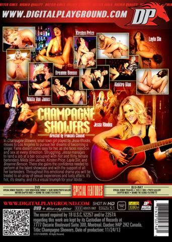 Champagne Showers from Digital Playground back cover