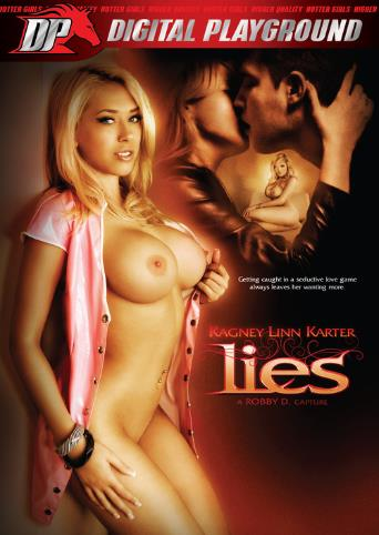 Kagney Linn Karter Lies from Digital Playground front cover