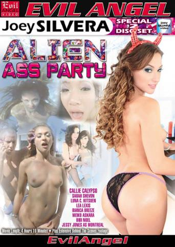 Alien Ass Party from Evil Angel: Joey Silvera front cover