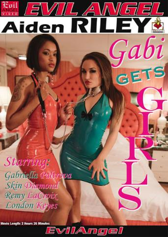 Gabi Gets Girls from Evil Angel front cover