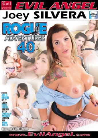 Rogue Adventures 40 from Evil Angel: Joey Silvera front cover