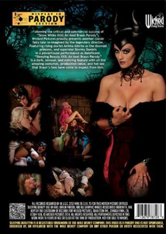 Sleeping Beauty An Axel Braun Parody from Wicked back cover