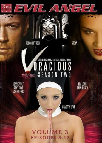 Voracious Season Two Volume 3 from Evil Angel: Buttman front cover