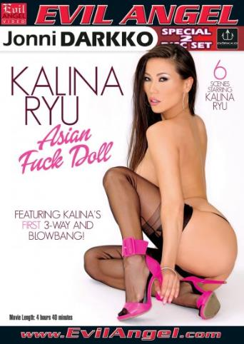 Kalina Ryu Asian Fuck Doll from Evil Angel: Jonni Darkko front cover