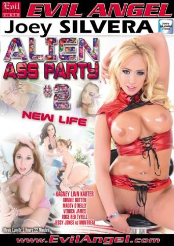 Alien Ass Party 2 from Evil Angel: Joey Silvera front cover
